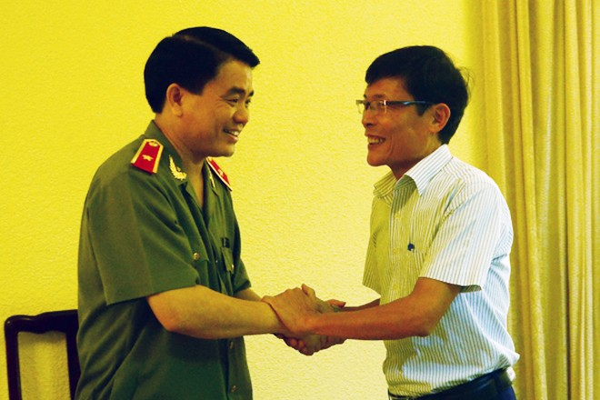 Chân tình buổi gặp mặt thân mật giữa CATP Hà Nội với lãnh đạo các cơ quan báo chí ảnh 3