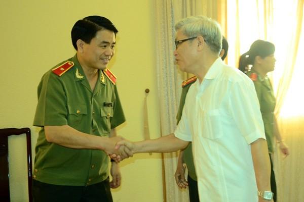 Chân tình buổi gặp mặt thân mật giữa CATP Hà Nội với lãnh đạo các cơ quan báo chí ảnh 4