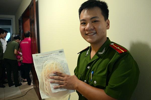 Tuổi trẻ Công an Thủ đô hiến máu vì cộng đồng: Một giọt máu cho đi... ảnh 6