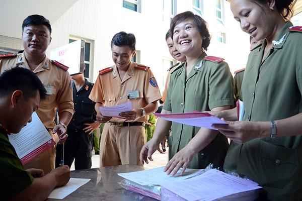 Tuổi trẻ Công an Thủ đô hiến máu vì cộng đồng: Một giọt máu cho đi... ảnh 3