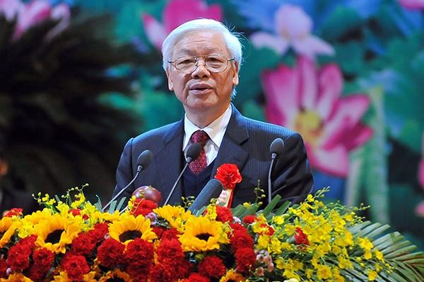 Tổng Bí thư Nguyễn Phú Trọng phát biểu chỉ đạo đại hội