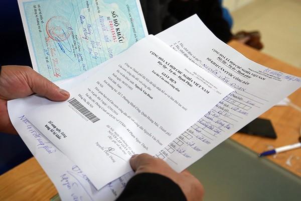 Hà Nội: Dễ dàng đăng ký thẻ căn cước công dân ảnh 5