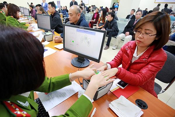 Hà Nội: Dễ dàng đăng ký thẻ căn cước công dân ảnh 6