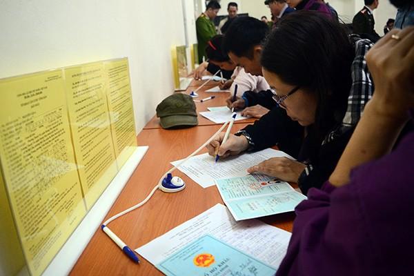 Hà Nội: Dễ dàng đăng ký thẻ căn cước công dân ảnh 2