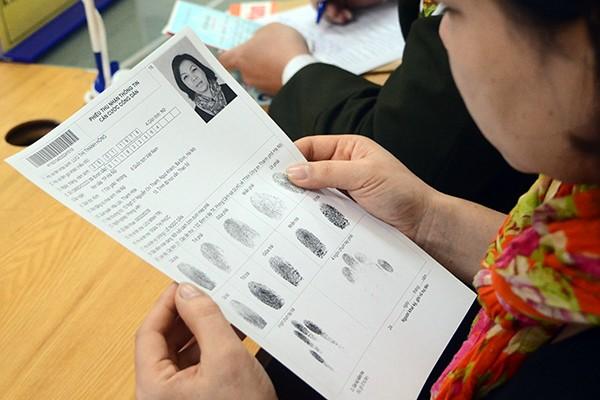 Hà Nội: Dễ dàng đăng ký thẻ căn cước công dân ảnh 4