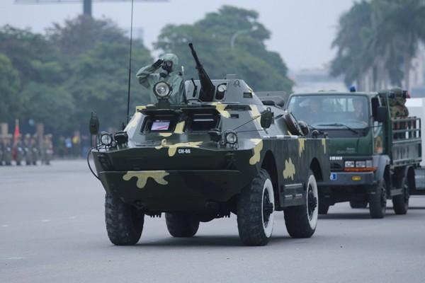 Trực thăng và dàn xe khủng tham gia bảo vệ Đại hội Đảng XII ảnh 9