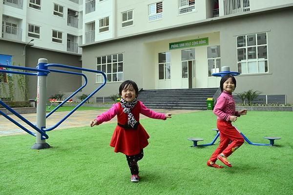 Cận cảnh EcoHome 2 - khu nhà xã hội kiểu mẫu tại Hà Nội ảnh 4