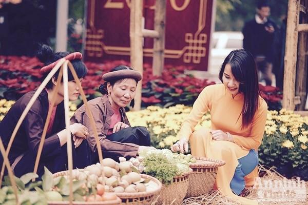 Xao xuyến trước hình ảnh chợ quê xưa tuyệt đẹp ảnh 5
