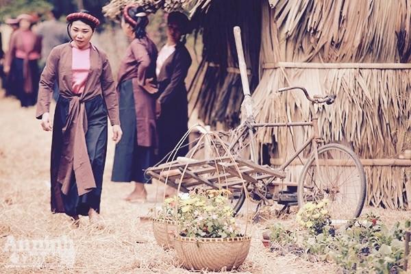 Xao xuyến trước hình ảnh chợ quê xưa tuyệt đẹp ảnh 1