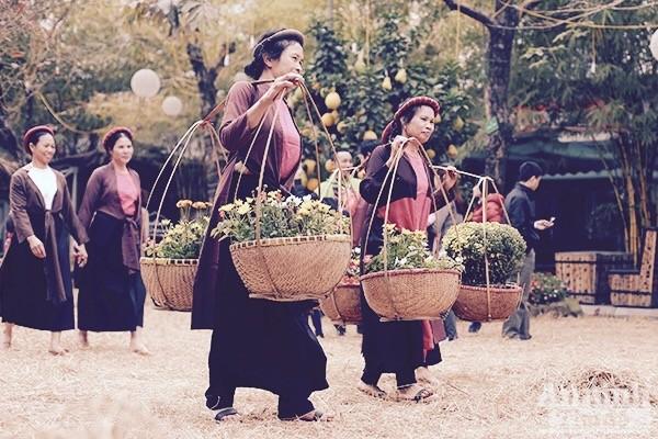 Xao xuyến trước hình ảnh chợ quê xưa tuyệt đẹp ảnh 3