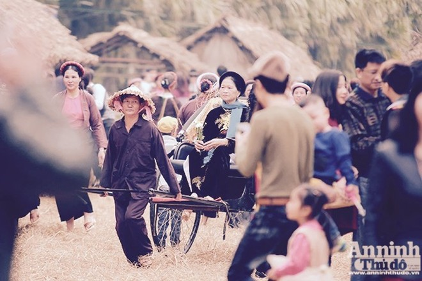 Xao xuyến trước hình ảnh chợ quê xưa tuyệt đẹp ảnh 8