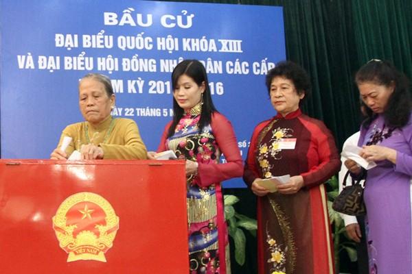 Hà Nội công bố 30 đơn vị bầu cử đại biểu Quốc hội và HĐND TP ảnh 1