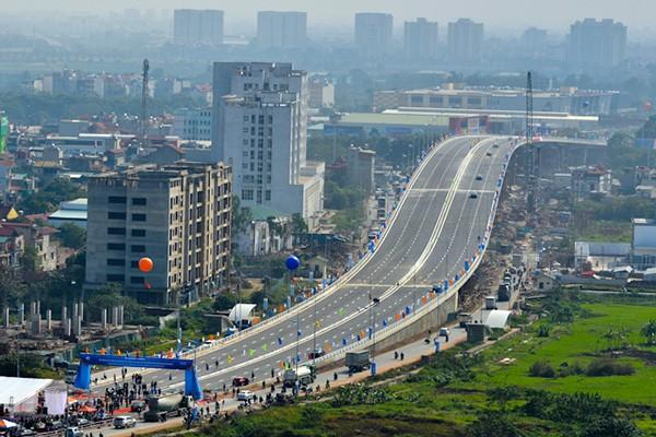 Dự án cầu vượt 6 làn tại nút giao Long Biên, Hà Nội - Một trong những công trình giao thông trọng điểm cửa ngõ Thủ đô