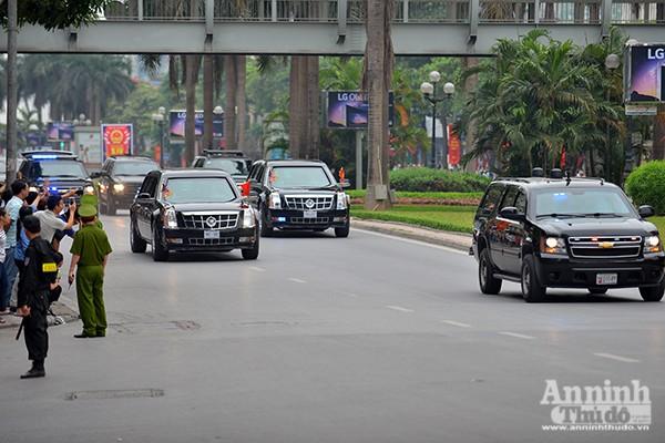 Xem Công an Hà Nội đảm bảo an ninh, an toàn phục vụ lễ đón chính thức Tổng thống Obama ảnh 5