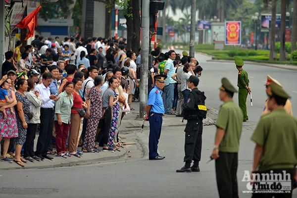 Xem Công an Hà Nội đảm bảo an ninh, an toàn phục vụ lễ đón chính thức Tổng thống Obama ảnh 2