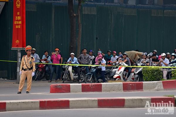 Xem Công an Hà Nội đảm bảo an ninh, an toàn phục vụ lễ đón chính thức Tổng thống Obama ảnh 3