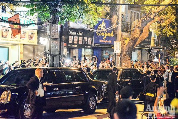 Tổng thống Mỹ được bảo vệ thế nào khi ăn bún chả ở Hà Nội ảnh 9