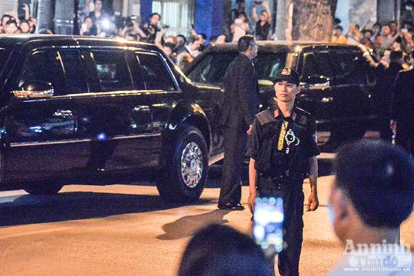 Tổng thống Mỹ được bảo vệ thế nào khi ăn bún chả ở Hà Nội ảnh 4