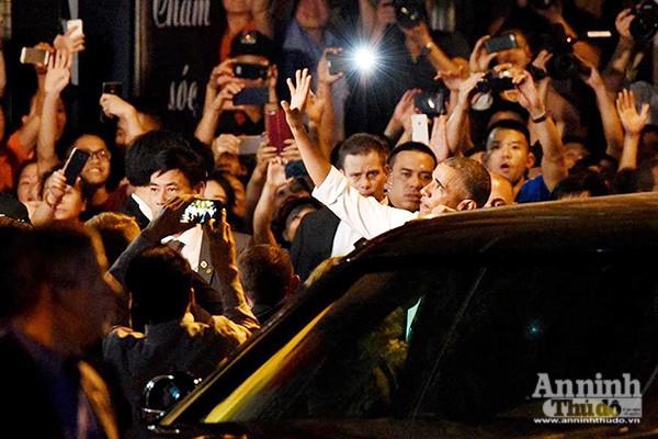 Tổng thống Mỹ được bảo vệ thế nào khi ăn bún chả ở Hà Nội ảnh 10
