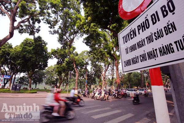 Dự kiến tối mai 1-9, UBND TP Hà Nội sẽ chính thức khai trương thí điểm các tuyến phố đi bộ quanh hồ Gươm