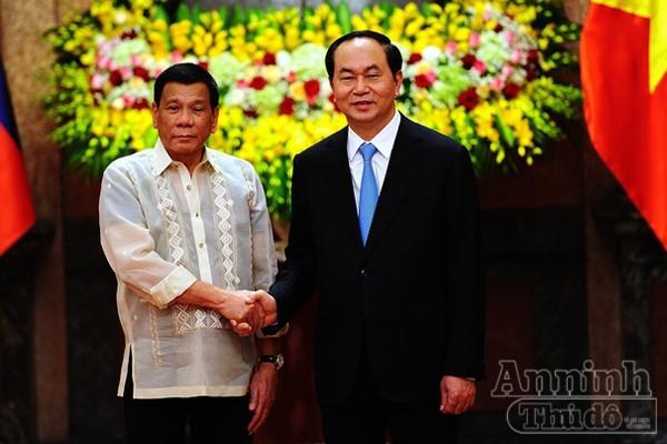 Tổng thống Philippines thăm chính thức Việt Nam ảnh 6