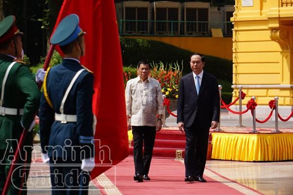 Tổng thống Philippines thăm chính thức Việt Nam ảnh 3
