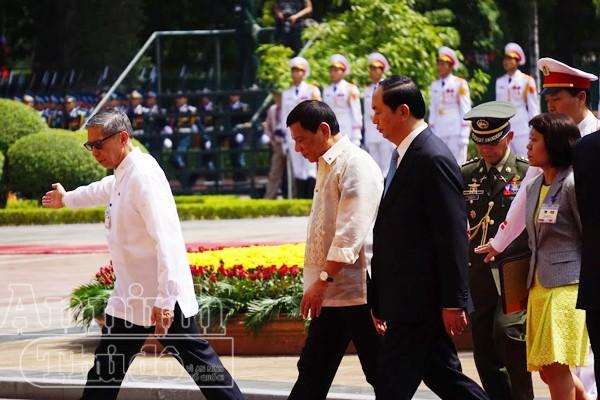 Tổng thống Philippines thăm chính thức Việt Nam ảnh 5