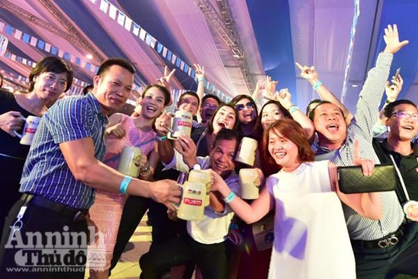 Sôi động lễ hội bia Đức tại Hà Nội ảnh 6