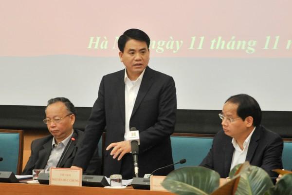 Chủ tịch UBND TP Nguyễn Đức Chung: Xử lý nghiêm viên chức Sở Ngoại vụ hành hung người cao tuổi ảnh 1