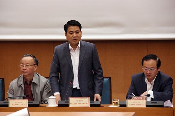 Chủ tịch UBND TP Nguyễn Đức Chung giao 84 nhiệm vụ cụ thể cần làm ngay cho các sở ngành