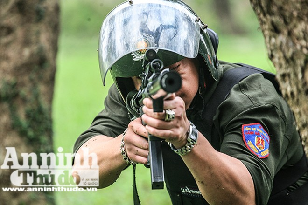 Lực lượng Cảnh sát Hình sự đặc nhiệm, CATP thường xuyên rèn luyện võ thuật, kỹ chiến thuật, sẵn sàng trước mọi tình huống