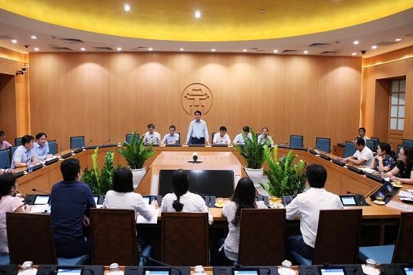 Chủ tịch UBND TP phát biểu tại buổi tiếp công dân