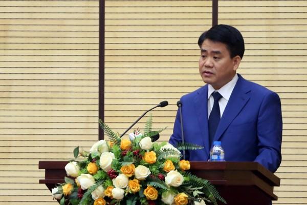 Chủ tịch UBND TP Nguyễn Đức Chung phát động phong trào thi đua năm 2019