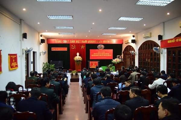 Toàn cảnh hội nghị tổng kết công tác thanh tra TP Hà Nội 2018
