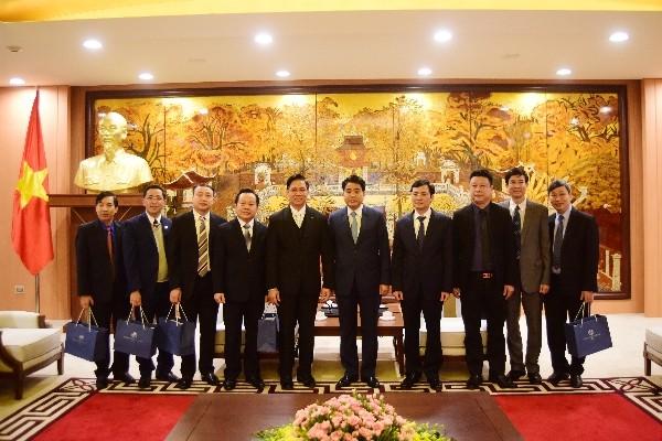 Chủ tịch UBND TP Nguyễn Đức Chung trân trọng đón tiếp đoàn Hội Thánh Tin lành Việt Nam (miền bắc)