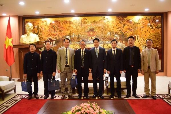 Chủ tịch UBND TP Nguyễn Đức Chung trân trọng tiếp Đoàn Hội thánh liên hữu Cơ đốc Việt Nam