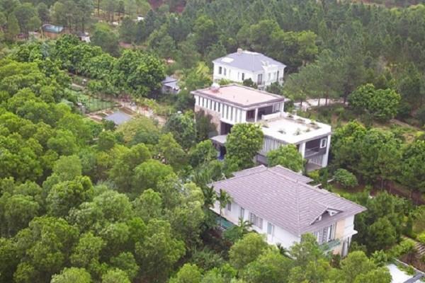 Một số công trình vi phạm đất rừng ở Sóc Sơn