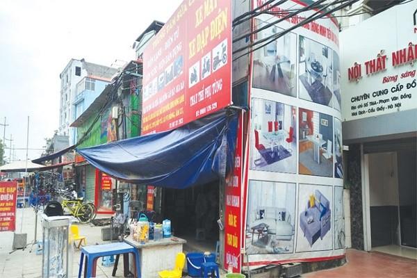 Nhà siêu mỏng, siêu méo trên đường Phạm Văn Đồng