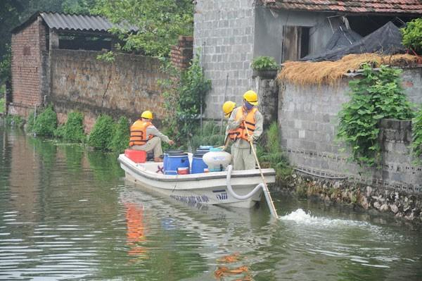 Hầu hết ao hồ bị ô nhiễm ở Hà Nội sau 3 năm sử dụng chế phẩm Redoxy-3C đều có kết quả tích cực