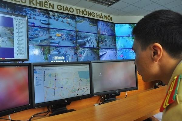 Hà Nội sẽ sớm hoàn thành hệ thống camera giám sát giao thông, an ninh trật tự
