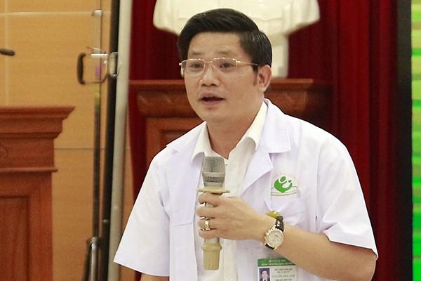 Thầy thuốc Nhân dân, PGS.TS Nguyễn Duy Ánh, Giám đốc Bệnh viện Phụ sản Hà Nội