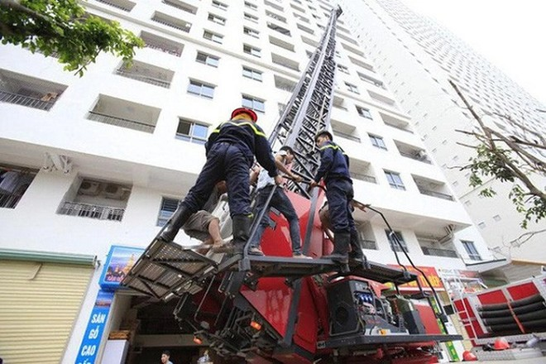 Mất an toàn PCCC tiềm ẩn nhiều nguy cơ ở các tòa nhà chung cư