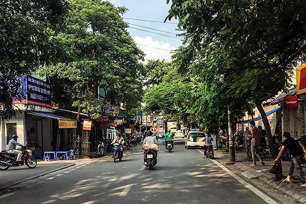Những con phố bình yên ở phường Minh Khai hiện nay