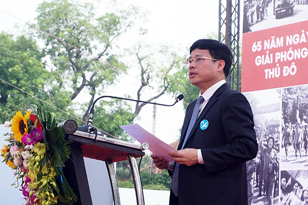 Phó Chủ tịch UBND TP Ngô Văn Quý phát biểu tại chương trình