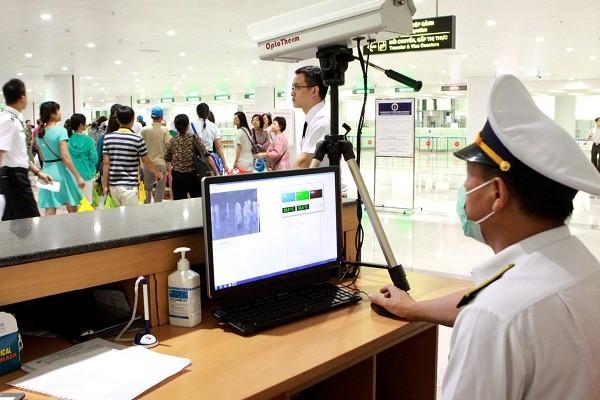 Công tác kiểm dịch y tế tại Cửa khẩu Hàng không Quốc tế Nội Bài