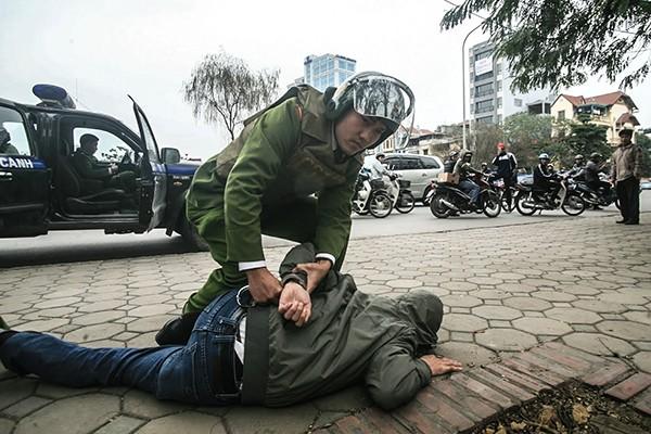 Qua công tác tuần tra, kiểm soát, CATP Hà Nội đã phát hiện, xử lý nhiều vụ vận chuyển, tàng trữ trái phép chất ma túy