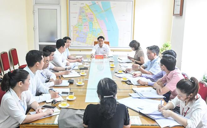 Chủ tịch UBND TP Hà Nội Nguyễn Đức Chung tiếp công dân định kỳ tại quận Hoàn Kiếm