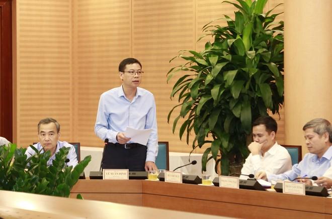 Thứ trưởng Bộ KH&CN Lê Xuân Định phát biểu tại buổi làm việc