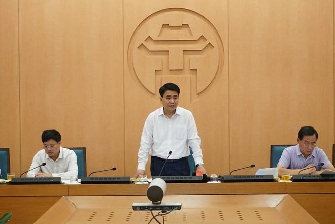 Chủ tịch Hà Nội: Người về từ Đà Nẵng chưa được xét nghiệm cần yên tâm tự cách ly, theo dõi sức khỏe tại nhà
