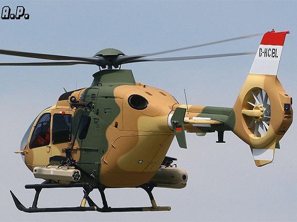 Máy bay trực thăng EC-635 của quân đội Iraq